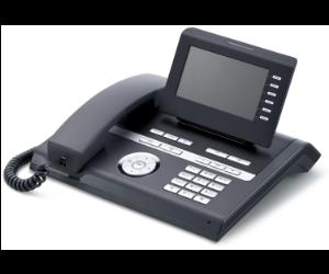 Komfortní telefon s barevným displejem a Bluetooth konektivitou pro práci s bezdrátovým headsetem.